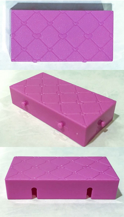 Image Of Purple Tile From Blind Box