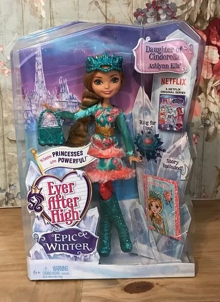 Review Of Ever After High Doll Ashlynn Ella From The Epic Winter Series.
