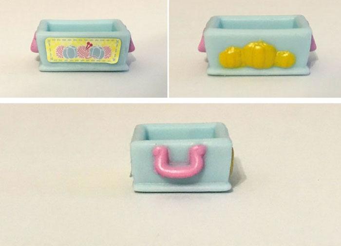 Disney Shopkins Blind Box Item: Knitting Box.