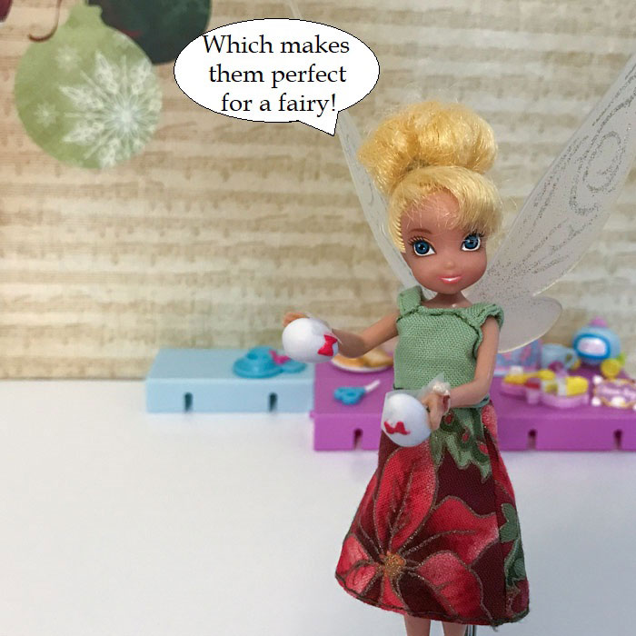 Which Makes Them Perfect For A Fairy!