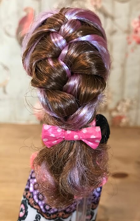 Cedar Wood With Braided Hair