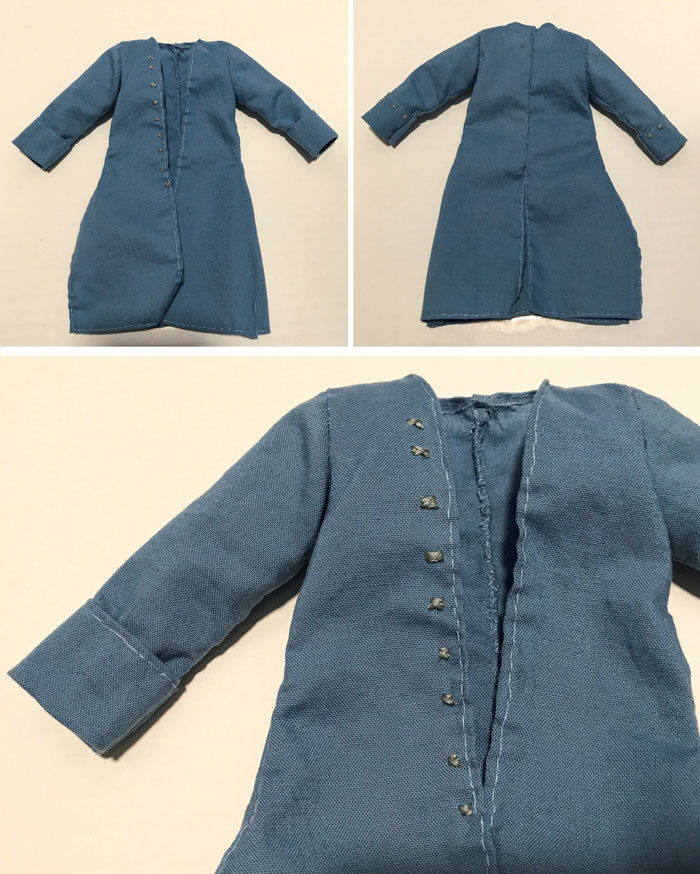 Blue Doll Coat