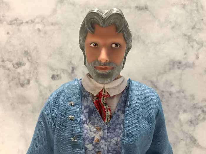 Custom Maurice Doll From Beauty And The Beast