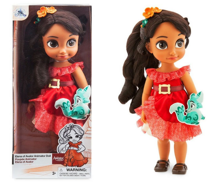 Disney Animtors' Doll Elena Of Avalor