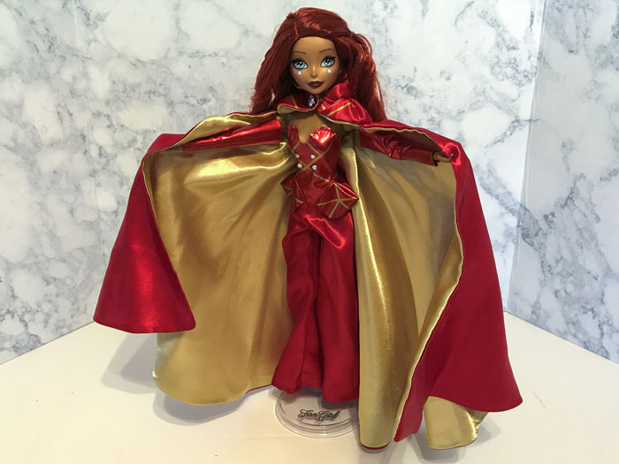 Red And Gold Cape