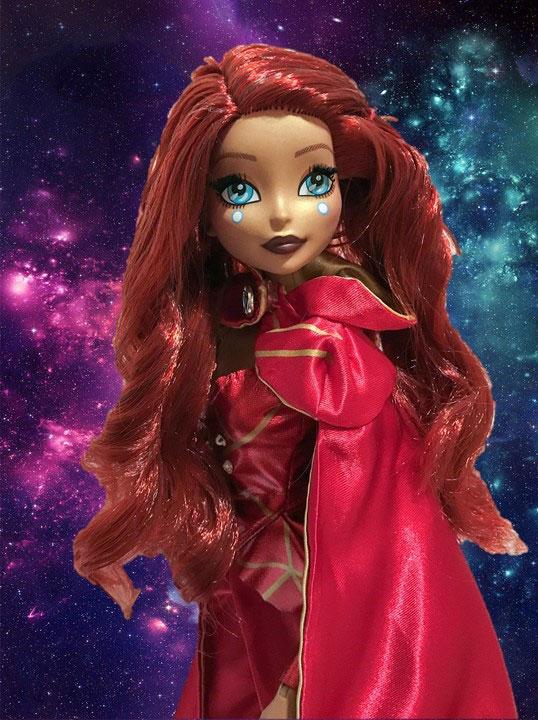 Iron Man Inspired Fan Girl Doll