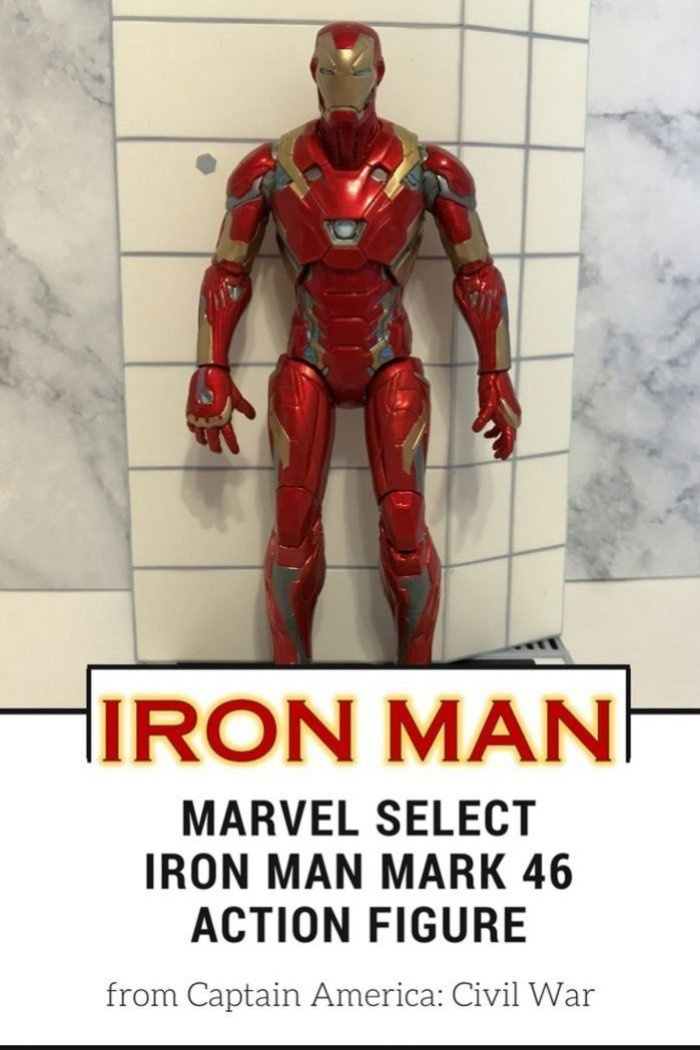 A review of Marvel Select Mark 46 Iron Man Action Figure