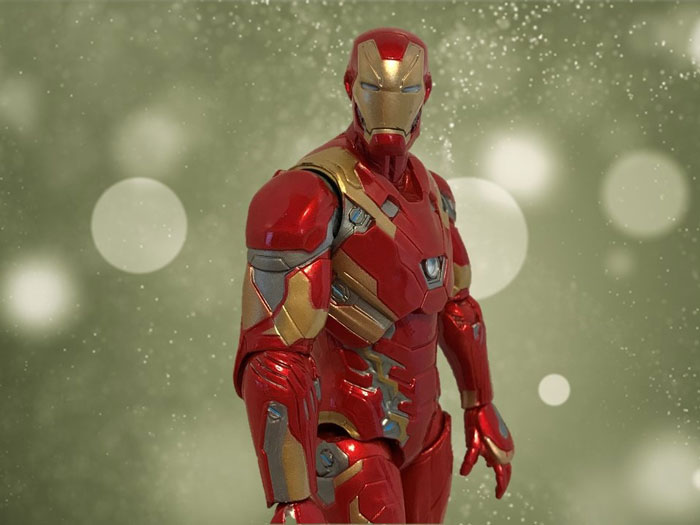Iron Man With Green Background