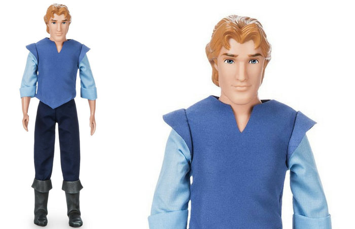 Captain John Smith Doll