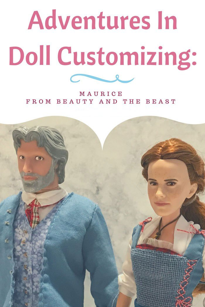 Adventures In Doll Customizing: Custom Maurice Doll from Beauty and The Beast.
