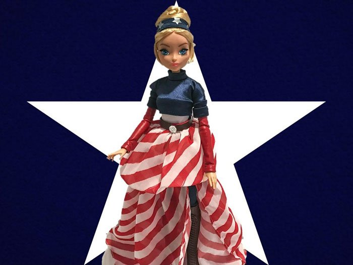 Madame Alexander Captain America Fan Girl Review.