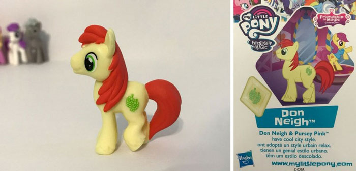 Don Neigh Pony And Collector Card