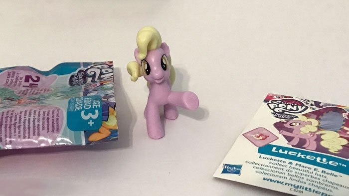 My Little Pony Blind Bag: Luckette.