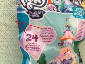 Front Of My Little Pony Blind Bag