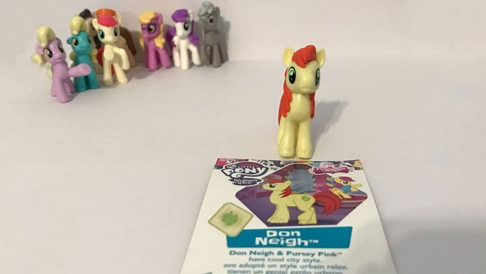 My Little Pony Blind Bag: Don Neigh.