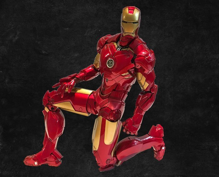 Iron Man Mark IV from Hot Toys has excellent articulation.