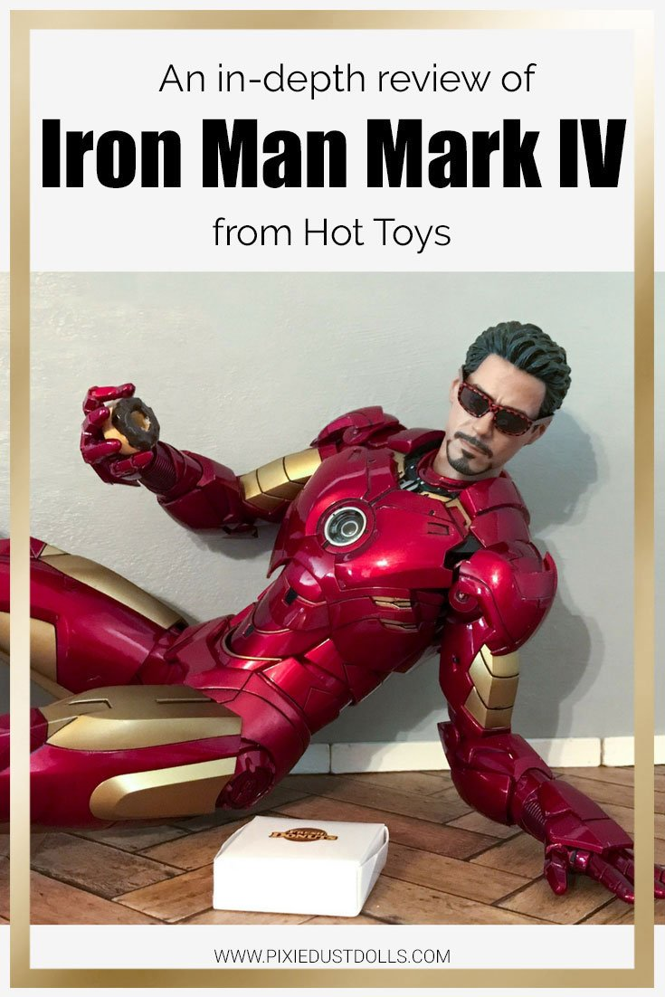 An in-depth review of Iron Man Mark IV from Hot Toys.