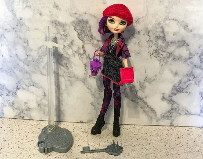 Ever After High doll: Poppy O'Hair.