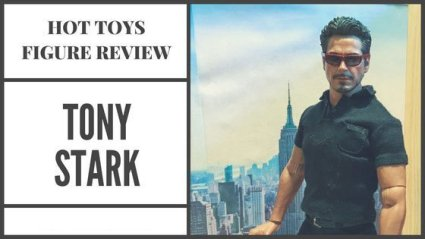 Hot Toys Review: Tony Stark from the Arc Reactor Creation set.