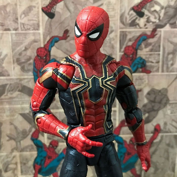 The Iron Spider is Peter's Parker's newest Spider-Man suit.