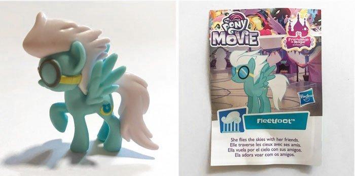My Little Pony Mini Figure: Fleetfoot.