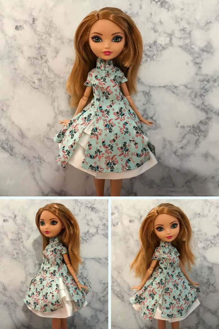 Ashlynn Ella's lolita inspired doll dress.