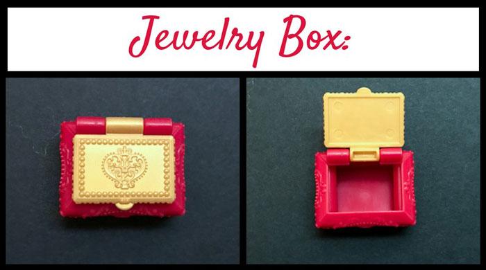 Lizzie Hearts' jewelry box.