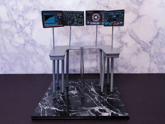 DIY Work Desk For Hot Toys Tony Stark.