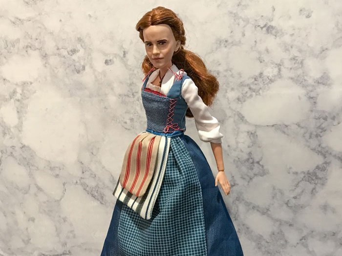 Disney Store Belle on Made-To-Move Barbie body (Purple Top)..