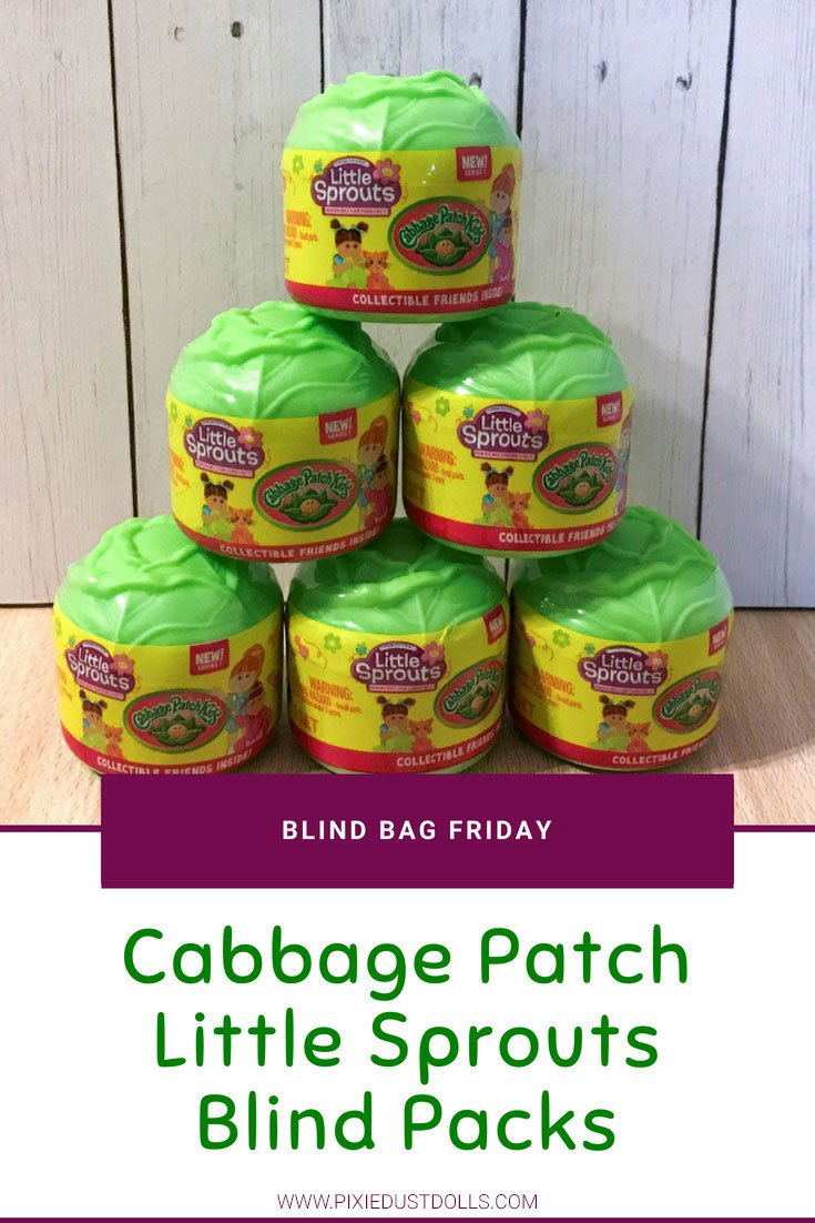 Blind Bag Friday: Unboxing Cabbage Patch Little Sprouts Blind Bags!