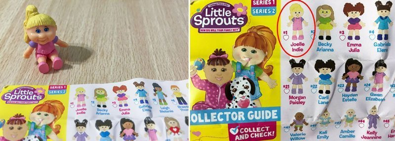 Little Sprouts Mini Figure: Joelle Indie.