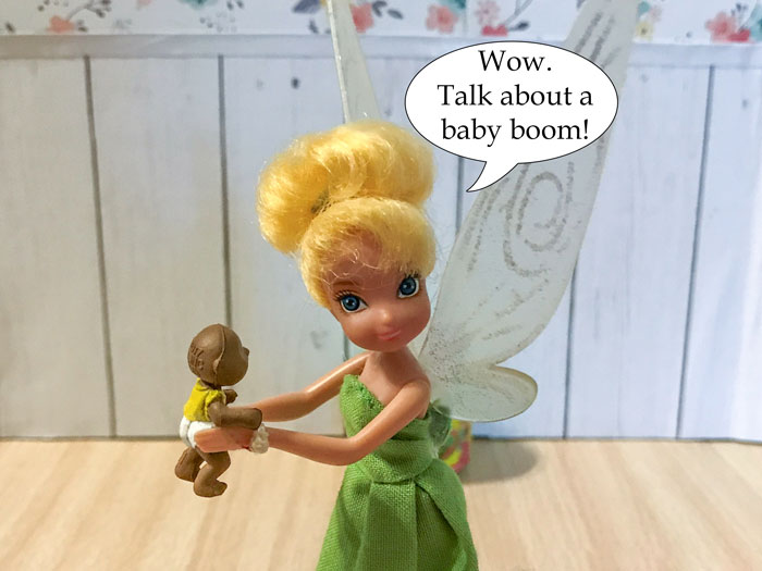 Tinkerbell: Wow. Talk about a baby boom!