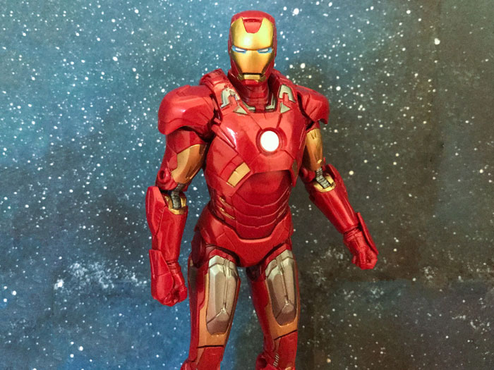 Iron Man Figure Review.