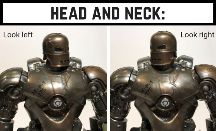 Mark 1 Head Articulation.