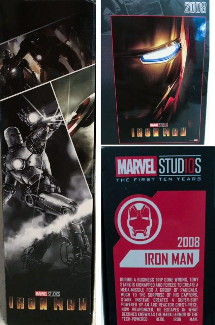 The side of Marvel Studios box.