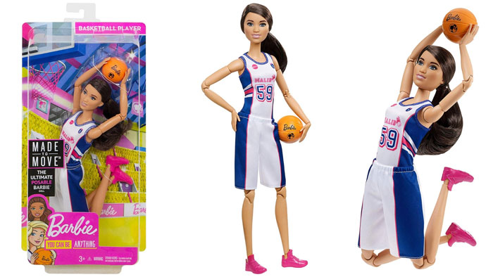 Made-To-Move Basketball Player Barbie (2019).