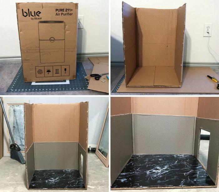 Image Of Cardboard Box.