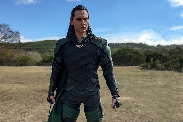 Hot Toys Loki from Thor: Ragnarok.