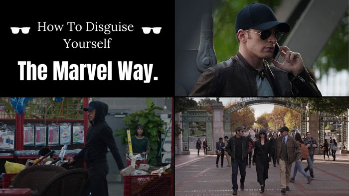 How To Disguise Yourself The Marvel Way.
