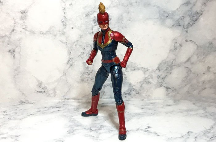 Marvel Legends Captain Marvel.