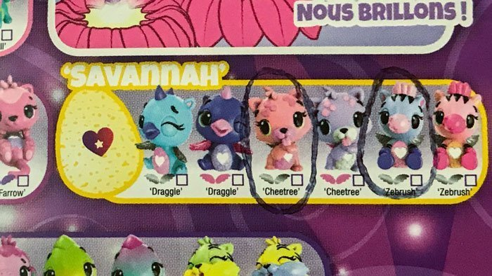 Image of Hatchimal Collector Guide showing Cheetree.