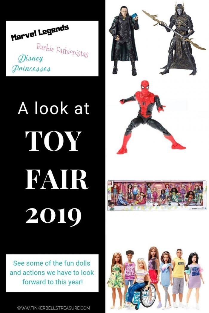 Tody we are checking out some of the new Barbie Fashionistas, Hasbro dolls, and Marvel Legends coming later this year!