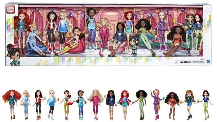 Ralph Breaks The Internet Ultimate Fashion Doll Pack from Hasbro. Coming March 2019.