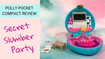 Polly Pocket Compact Review: Secret Slumber Party
