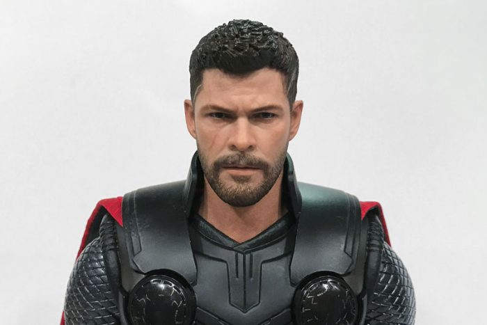The detail on Hot Toys' Infinity War Thor is superb.