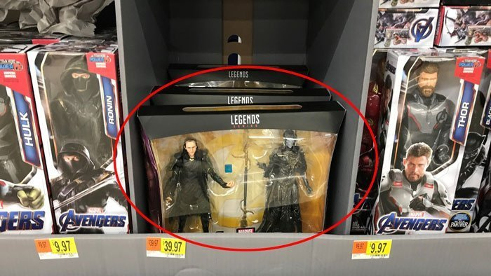 The Marvel Legends Loki and Corvus Glaive 2-pack!