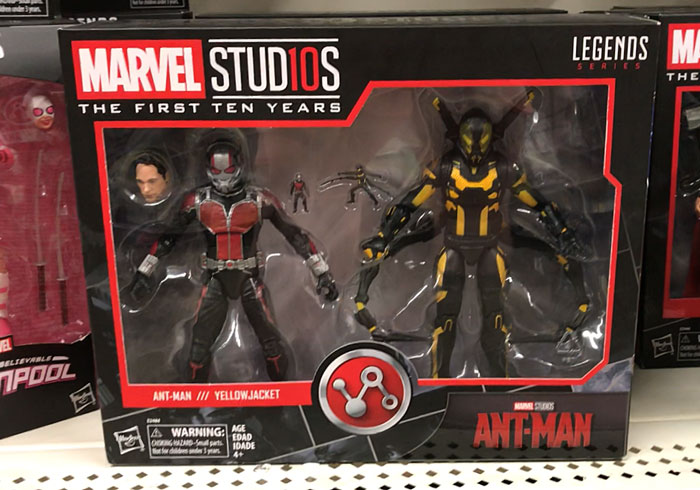 Ant-Man and Yellow-Jacket (Walmart find).