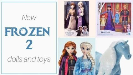 Doll News: Frozen 2 Dolls And Toys Are Here!
