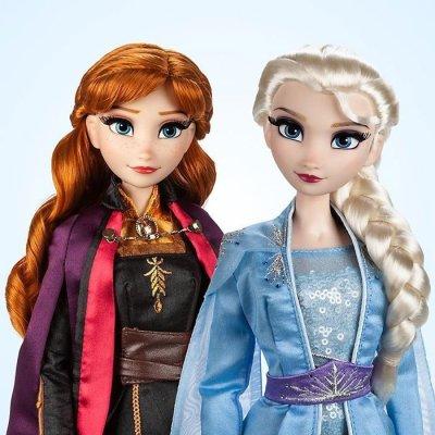 Frozen 2 Limited Edition dolls (shopdisney.uk).