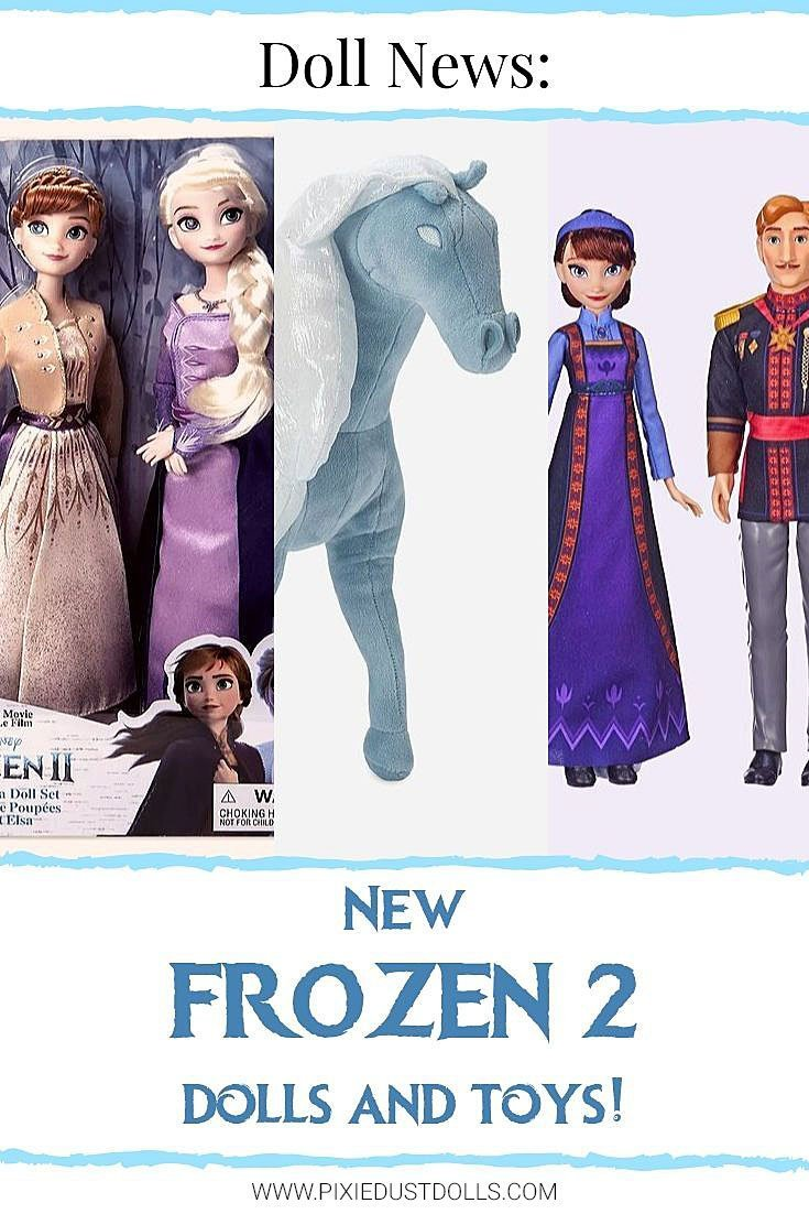 Today we're checking out the new Frozen 2 dolls at shopDisney and Walmart!